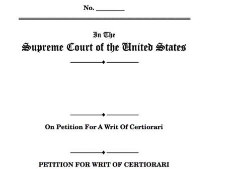CertPetition